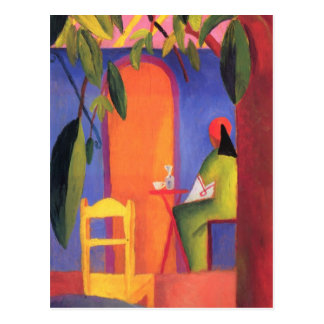 August Macke - Turkish Cafe II Postcard