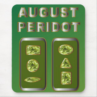 August Peridot Mouse Pad