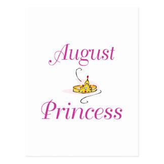 August Princess Postcard