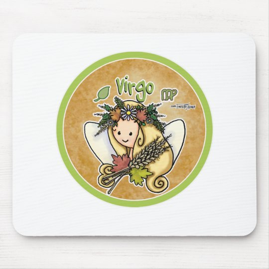 August & September - Virgo Mouse Mat