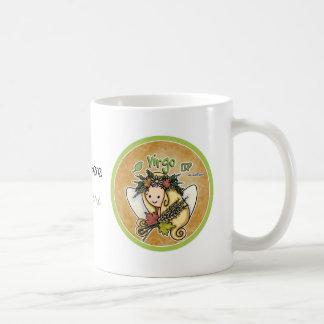 August & September - Virgo Basic White Mug