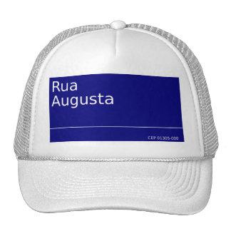 August street trucker hat