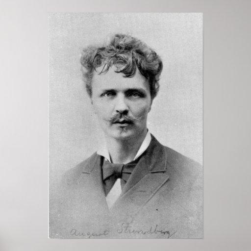 August Strindberg, 1st January, 1884 Print