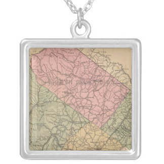 Augusta County, Virginia 2 Silver Plated Necklace