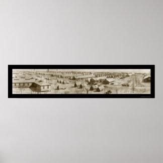 Augusta, GA Artillery Photo 1918 Poster