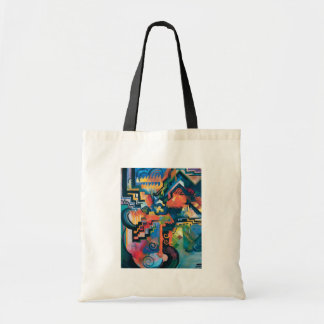 Auguste Macke - Homage to Johann Sebastian Bach Budget Tote Bag