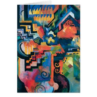 Auguste Macke - Homage to Johann Sebastian Bach Cards