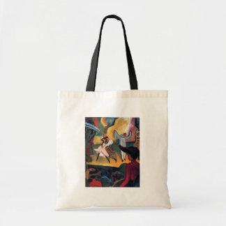 Auguste Macke - Russian Ballet Canvas Bag