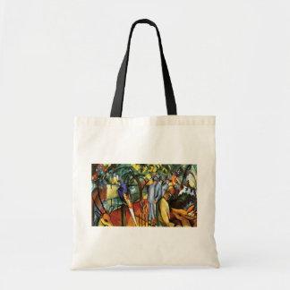 Auguste Macke - Zoological Garden Budget Tote Bag