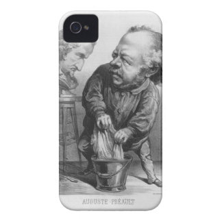 Auguste Preault (1809-79), caricature from 'Le Bou Case-Mate iPhone 4 Cases