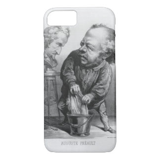 Auguste Preault (1809-79), caricature from 'Le Bou iPhone 8/7 Case