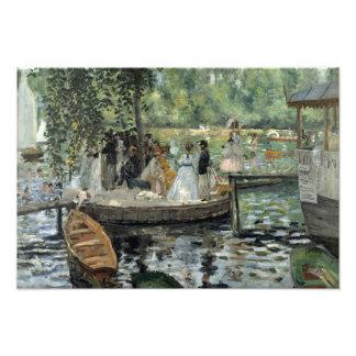 Auguste Renoir -  La Grenouillere Art Photo