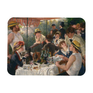 Auguste Renoir - Luncheon of the Boating Party Rectangular Photo Magnet