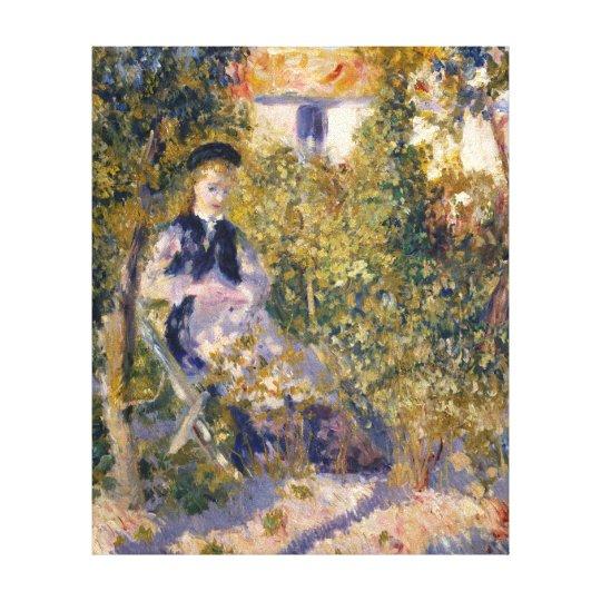 Auguste Renoir Nini in the Garden Canvas Print