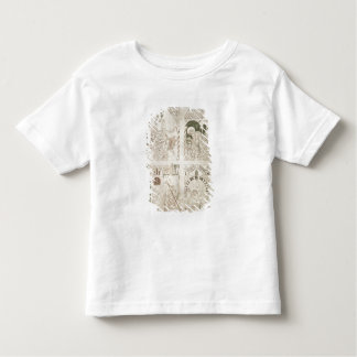Augustine at the Feet of Christ & Scribe Toddler T-Shirt