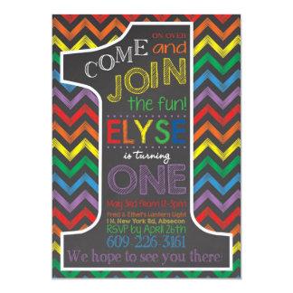 Augustine Rainbow Invitation
