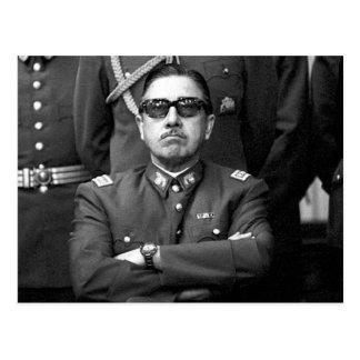 Augusto Pinochet Postcard