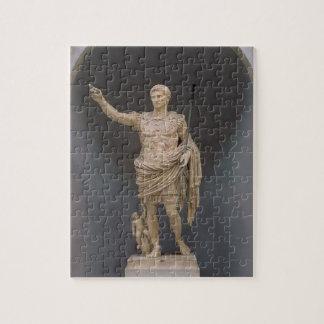 Augustus of Prima Porta, c.20 BC (marble) Jigsaw Puzzle