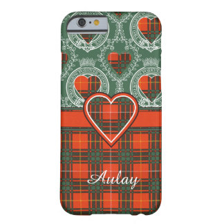 Aulay clan family Plaid Scottish kilt tartan Barely There iPhone 6 Case