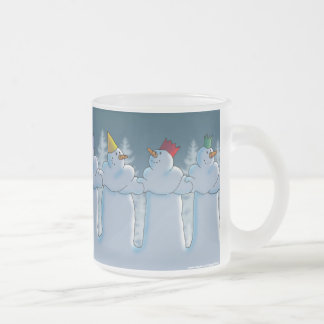 Auld Lang Syne Frosted Glass Mug