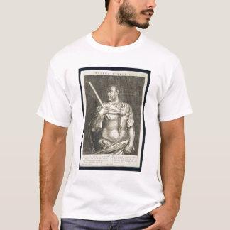 Aullus Vitellius Emperor of Rome 68 AD engraved by T-Shirt