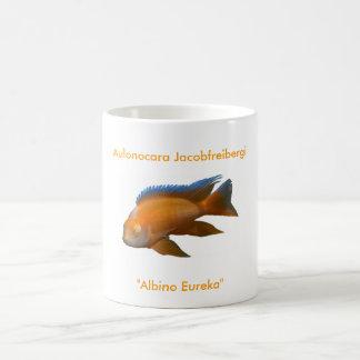 Aulonocara Jacobfreibergi Classic White Coffee Mug