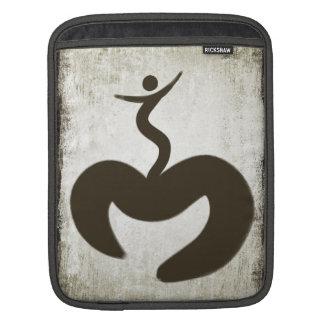 Aum Snowboarder iPad Sleeve