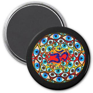 Aum Sphere Refrigerator Magnet