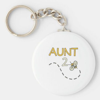 Aunt 2 Bee Key Ring