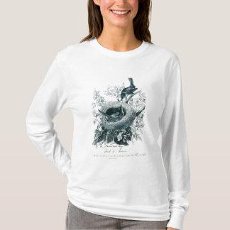 Aunt Abby's Birds Sketch T Shirt