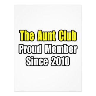 Aunt Club...Since 2010 Custom Flyer