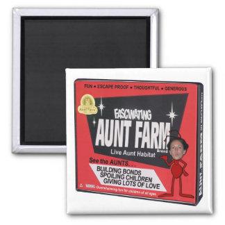 Aunt Farm Magnet