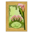Aunt Lily Birthday Greeting Card