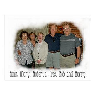 Aunt Mary 9-2015 Postcard