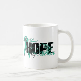 Aunt My Hero - Ovarian Hope Coffee Mug