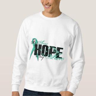 Aunt My Hero - Ovarian Hope Pull Over Sweatshirts