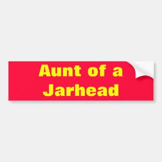 Aunt of a Marine Bumper Sticker