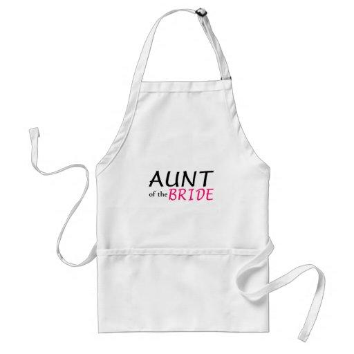 Aunt Of The Bride Apron