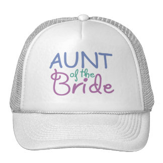 Aunt of the Bride Cap