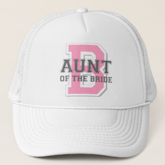 Aunt of the Bride Cheer Trucker Hat