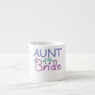 Aunt of the Bride Espresso Mug