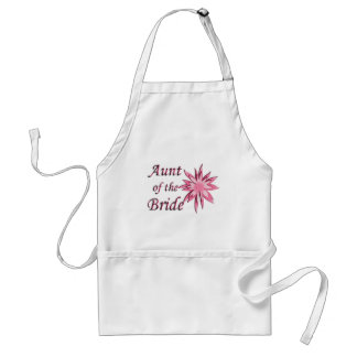 Aunt of the Bride Pink Standard Apron