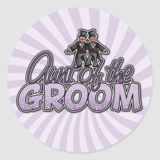 aunt of the groom stickers
