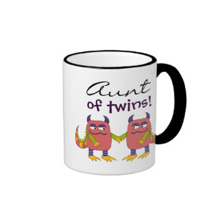 Aunt of Twins Mugs