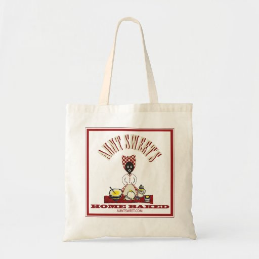 Aunt Sweet Tote Bags