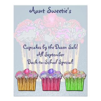Aunt Sweetie s Cupcake Flyer
