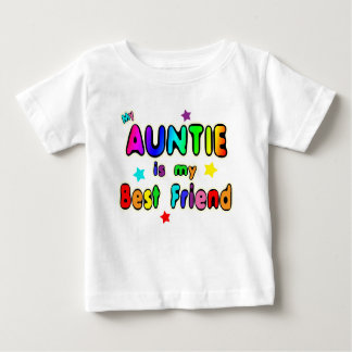 Auntie Best Friend Baby T-Shirt