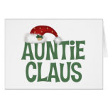 Auntie Claus Greeting Card