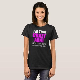 Auntie Crazy T-Shirt