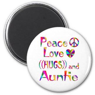 Auntie Hugs Magnet